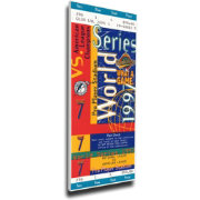 That's My Ticket Florida Marlins 1997 World Series Canvas Mega Ticket