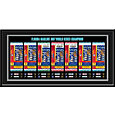 That's My Ticket Florida Marlins 1997 World Series Framed Printed Ticket Collection