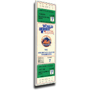 That's My Ticket New York Mets 1986 World Series Canvas Mega Ticket