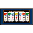That's My Ticket New York Mets 1986 World Series Framed Printed Ticket Collection