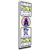 That's My Ticket California Angels Rod Carew 3000 Hits Mega Ticket