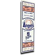 That's My Ticket Los Angeles Angels Reggie Jackson 500th Home Run Canvas Mega Ticket
