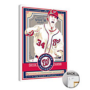 That's My Ticket Washington Nationals Bryce Harper Canvas Print