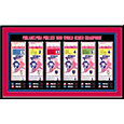 That's My Ticket Philadelphia Phillies 1980 World Series Framed Printed Ticket Collection
