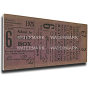 That's My Ticket Pirates 1925 World Series Canvas Mega Ticket