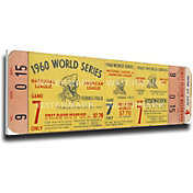 That's My Ticket Pittsburgh Pirates 1960 World Series Canvas Mega Ticket