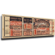 That's My Ticket Reds 1940 World Series Canvas Mega Ticket