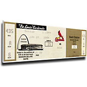 That's My Ticket Cincinnati Reds Ken Griffey Jr. 500th Home Run Canvas Mega Ticket