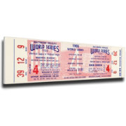 That's My Ticket Baltimore Orioles 1966 World Series Canvas Mega Ticket