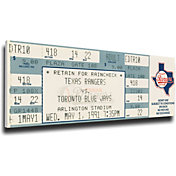 That's My Ticket Texas Rangers Nolan Ryan's 7th No Hitter Mega Ticket