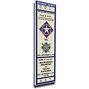 That's My Ticket Texas Rangers Nolan Ryan Retirement Mega Ticket