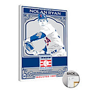 That's My Ticket Texas Rangers Nolan Ryan Canvas Print
