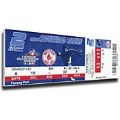 That's My Ticket Boston Red Sox 2004 ALCS Canvas Mega Ticket