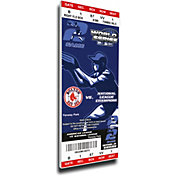 That's My Ticket Boston Red Sox 2004 World Series Canvas Mega Ticket