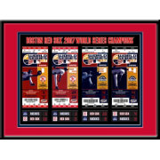 That's My Ticket Boston Red Sox 2007 World Series Framed Printed Ticket Collection