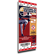 That's My Ticket Red Sox 2007 World Series Canvas Mega Ticket
