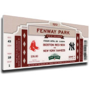 That's My Ticket Boston Red Sox Fenway Park 100 Year Anniversary Mega Ticket