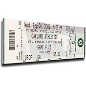 That's My Ticket Oakland Athletics 2002 20 Consecutive Wins Mega Ticket