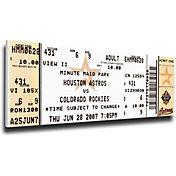 That's My Ticket Houston Astros Craig Biggio 3000 Hits Mega Ticket