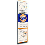 That's My Ticket Houston Astros Nolan Ryan's 5th No Hitter Mega Ticket