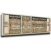 That's My Ticket Detroit Tigers 1945 World Series Canvas Mega Ticket
