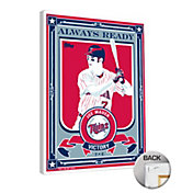 That's My Ticket Minnesota Twins Joe Mauer Victory Canvas Print