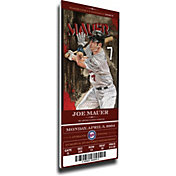 That's My Ticket Minnesota Twins Joe Mauer Debut Game Mega Ticket
