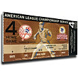 That's My Ticket New York Yankees 2003 ALCS Canvas Mega Ticket