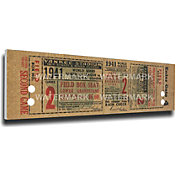 That's My Ticket New York Yankees 1941 World Series Canvas Mega Ticket
