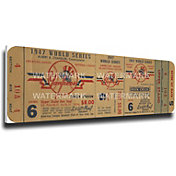 That's My Ticket New York Yankees 1947 World Series Canvas Mega Ticket