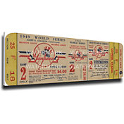 That's My Ticket New York Yankees 1949 World Series Canvas Mega Ticket