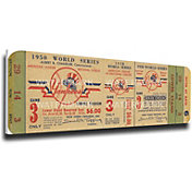 That's My Ticket New York Yankees 1950 World Series Canvas Mega Ticket