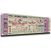 That's My Ticket New York Yankees 1951 World Series Canvas Mega Ticket