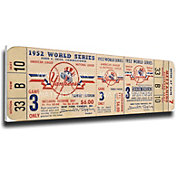 That's My Ticket New York Yankees 1952 World Series Canvas Mega Ticket