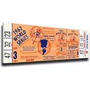 That's My Ticket New York Yankees 1962 World Series Canvas Mega Ticket