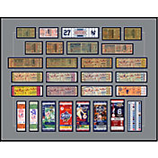 That's My Ticket New York Yankees 27x World Series Champions Framed Printed Ticket Collection
