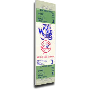 That's My Ticket New York Yankees 1978 World Series Canvas Mega Ticket