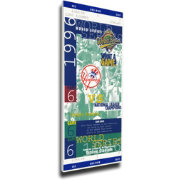 That's My Ticket New York Yankees 1996 World Series Canvas Mega Ticket
