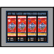 That's My Ticket New York Yankees 1998 World Series Framed Printed Ticket Collection