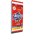 That's My Ticket New York Yankees 1998 World Series Canvas Mega Ticket