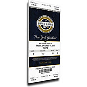 That's My Ticket New York Yankees Derek Jeter Yankees Hits Record Mega Ticket