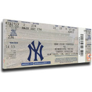 That's My Ticket New York Yankees Mariano Rivera 602 Saves Record Mega Ticket