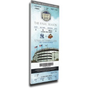 That's My Ticket New York Yankees Yankee Stadium Final Game Mega Ticket