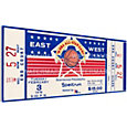 That's My Ticket 1976 NBA All-Star Game Canvas Ticket