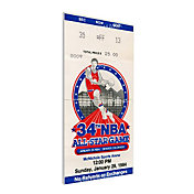 That's My Ticket 1984 NBA All-Star Game Canvas Ticket