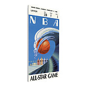 That's My Ticket 1990 NBA All-Star Game Canvas Ticket