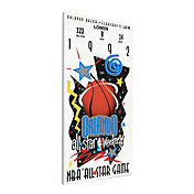 That's My Ticket 1992 NBA All-Star Game Canvas Ticket