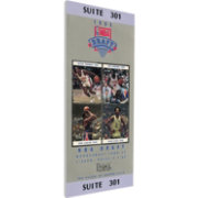 That's My Ticket 1993 NBA Draft Canvas Ticket