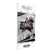 That's My Ticket 2013 NBA All-Star Game Canvas Ticket