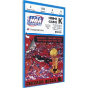 That's My Ticket Chicago Bulls 1998 NBA Finals Game 3 Canvas Ticket